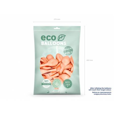 Ballons Eco 30cm pêche