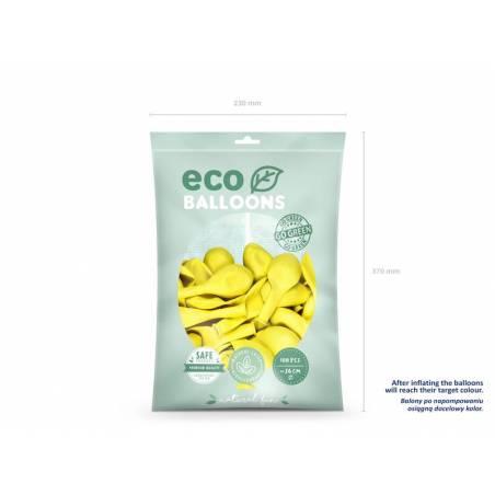 Ballons Eco 26cm jaune