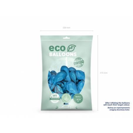 Ballons Eco 26cm bleu clair