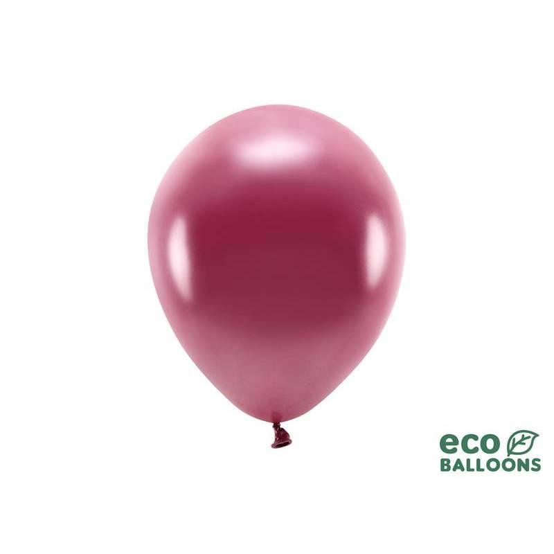 Ballons Eco 26cm rouge foncé