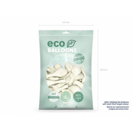 Ballons Eco 30cm blanc