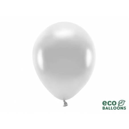 Ballons Eco 30cm argent