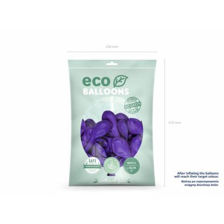 Ballons Eco 26cm violet
