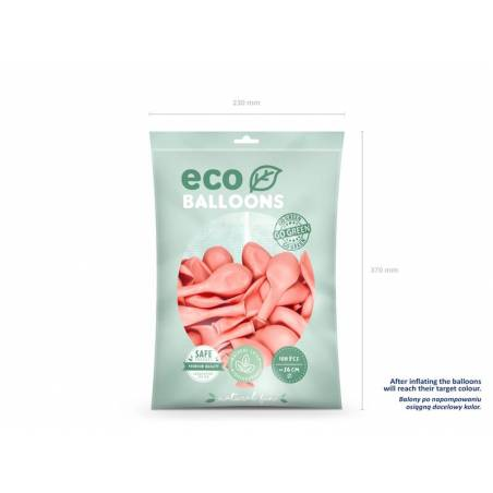 Ballons Eco 26cm rose pâle