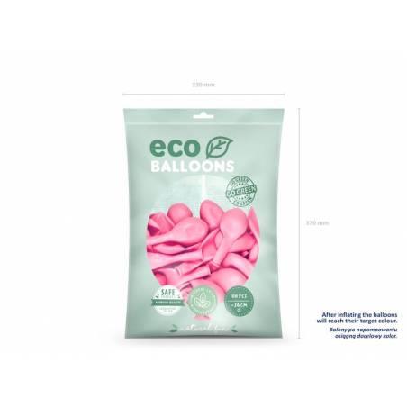Ballons Eco 26cm rose clair