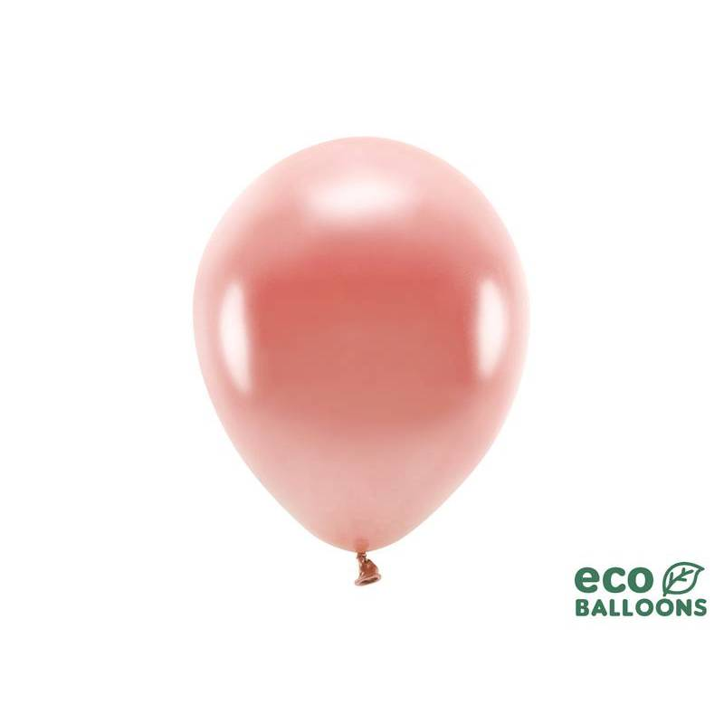 Ballons Eco 26cm or rose