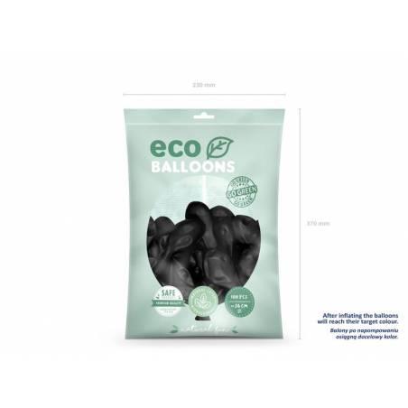 Ballons Eco 26cm noir