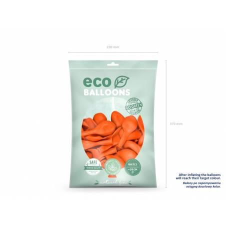 Ballons Eco 26cm orange