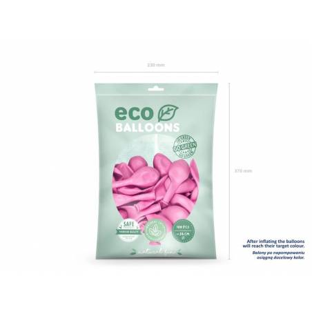 Ballons Eco 26cm rose