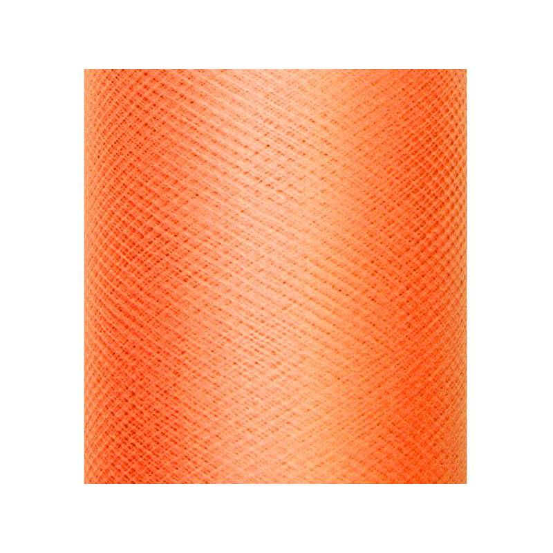 Tulle uni rigide orange 03 x 50 m