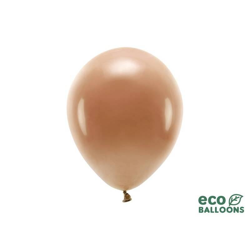 Ballons Eco 26 cm pastel brun chocolat