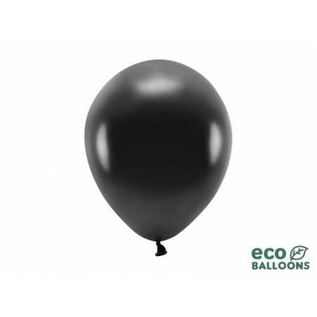 Ballons Eco 26cm métallique noir