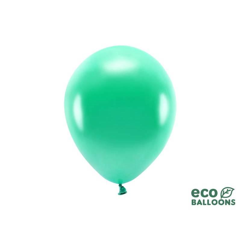Ballons Eco 26cm métallique vert