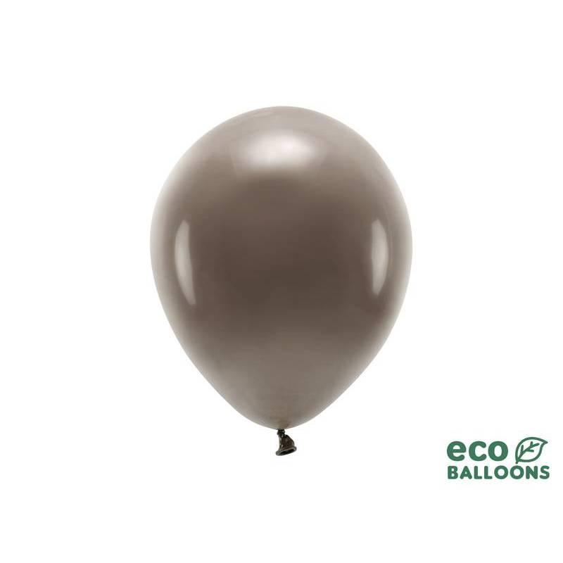 Ballons Eco 26cm pastel marron