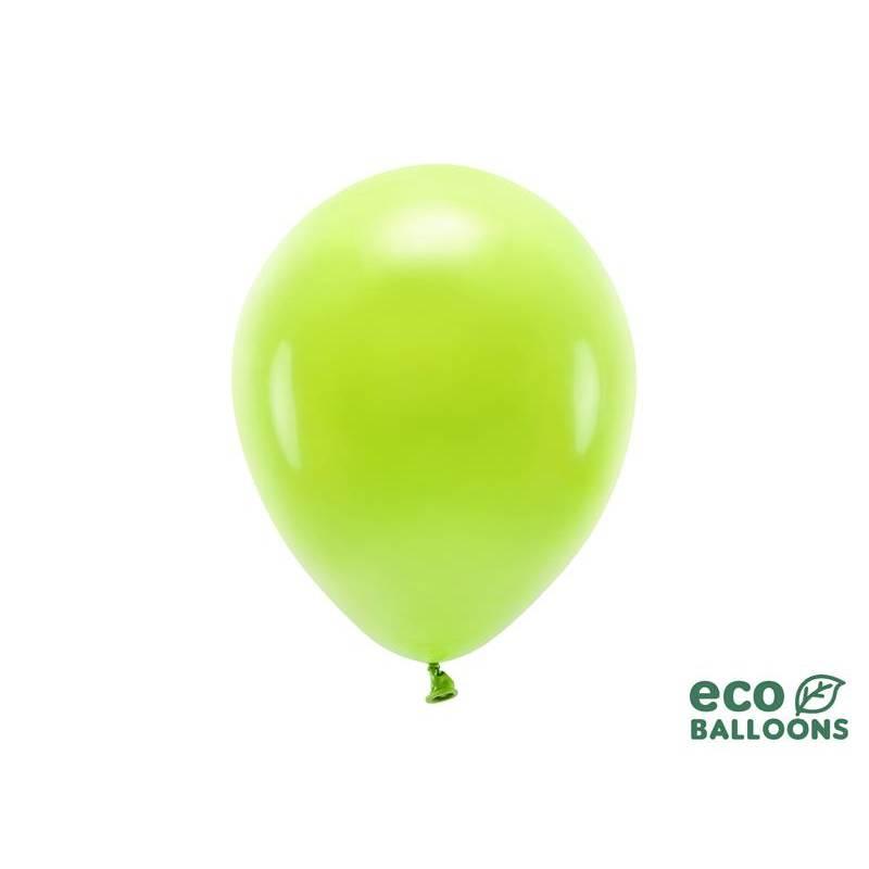 Ballons Eco 26cm pastel pomme verte
