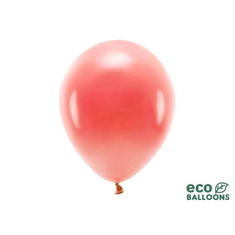 Ballons Eco 30cm corail pastel