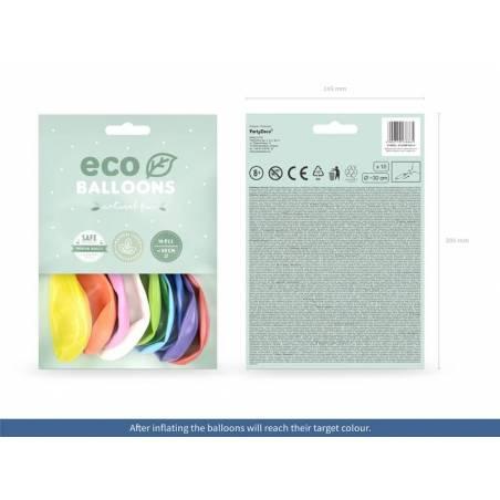 Ballons Eco 30cm métalliques mix