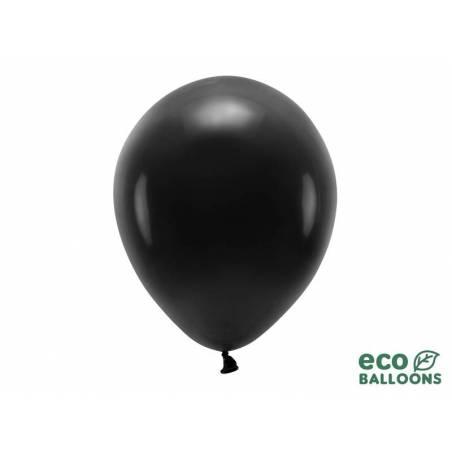Ballons Eco 30cm noir pastel