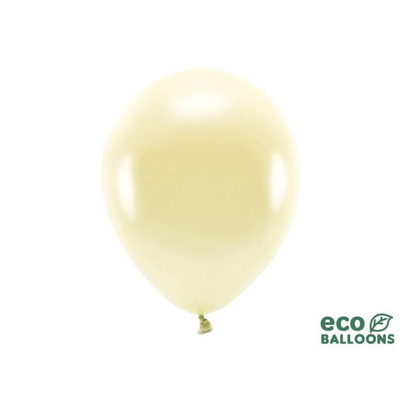 Ballons Eco 30cm paille métallique