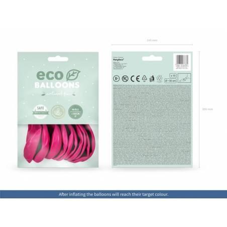 Ballons Eco 30cm pastel fuchsia