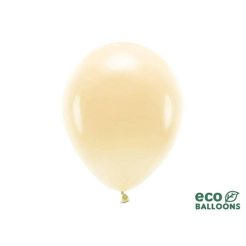 Ballons Eco 30cm pêche clair pastel