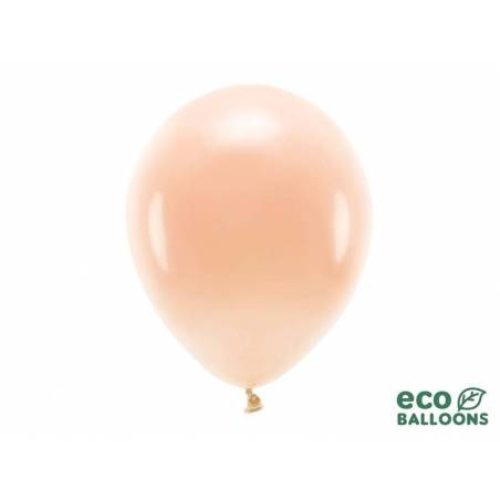 Ballons Eco 30cm pêche pastel