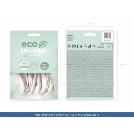 Ballons Eco 30cm perle métallique