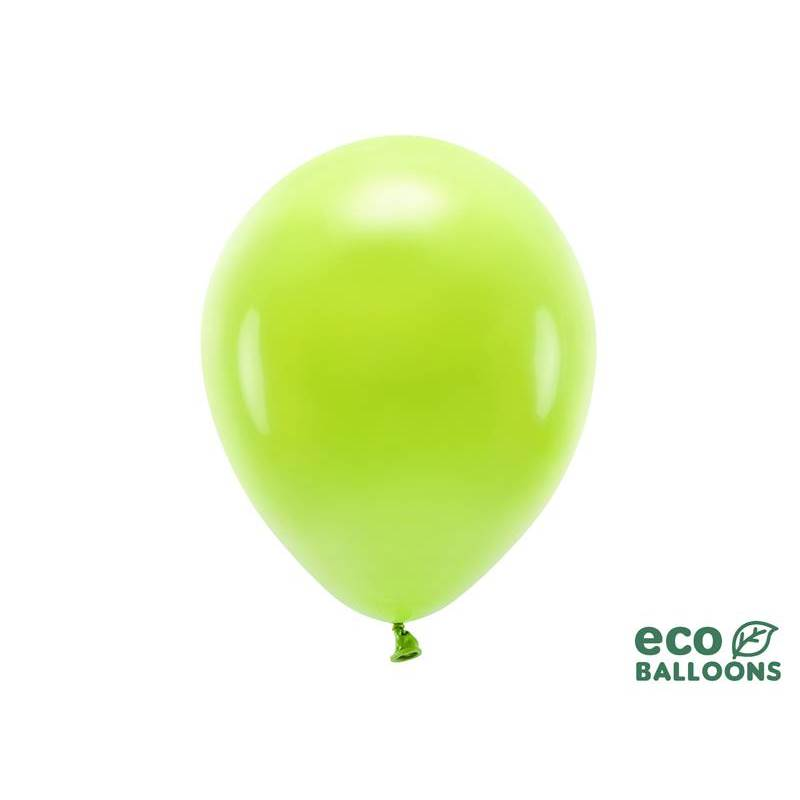 Ballons Eco 30cm pomme verte pastel