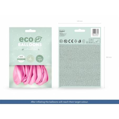 Ballons Eco 30cm rose pastel