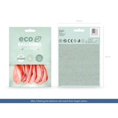Ballons Eco 30cm rose poudré pastel