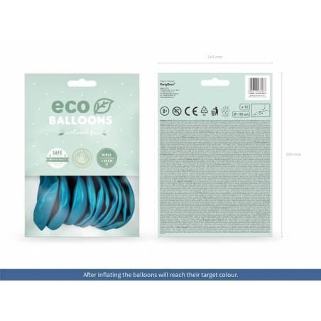 Ballons Eco 30cm turquoise pastel