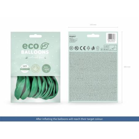 Ballons Eco 30cm vert pastel