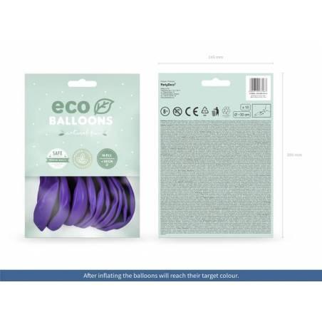 Ballons Eco 30cm violet pastel