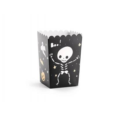 Boîtes pour pop-corn BOO ! mix 7x7x12.5cm