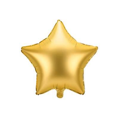 Ballon aluminium Star, 48cm, or