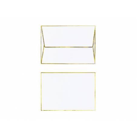 Carte avec épingle en émail Cerf, 10,5x14,8cm