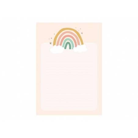 Cahier papier Rainbow avec feuilles déchirées 40 feuilles