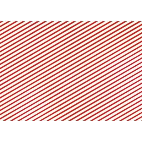 Papier cadeau - Bandes, 70x200cm