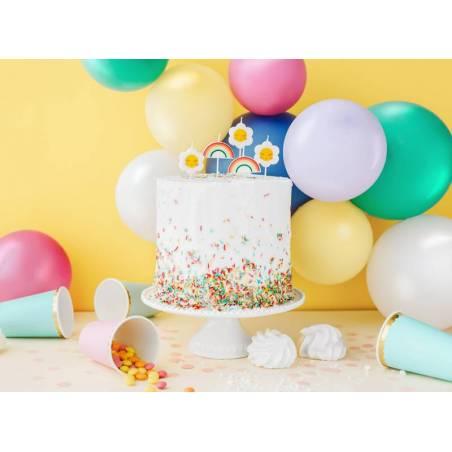 Bougies d'anniversaire Daisy 2-35 cm