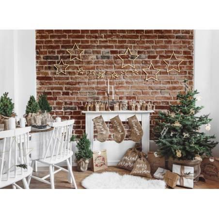 Bas décoratif Sweetie, blanc, 23x39,5cm
