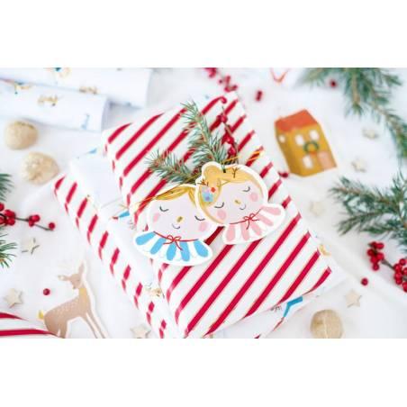Étiquettes-cadeaux de Noël mélange