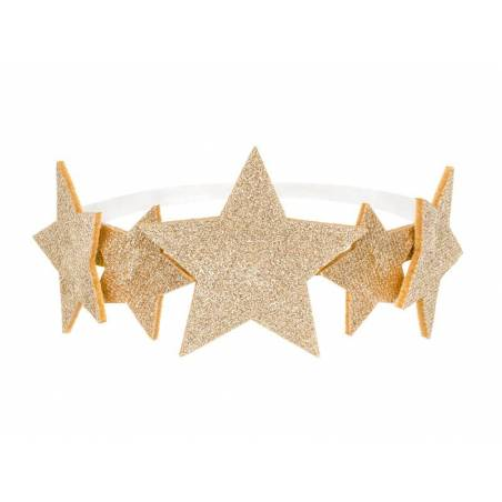 Bandeau Stars, or, 12cm