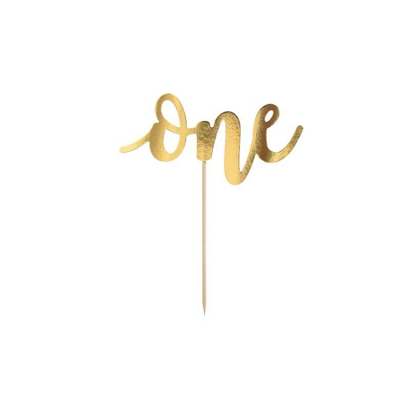 Cake Topper One, or, 19 cm
