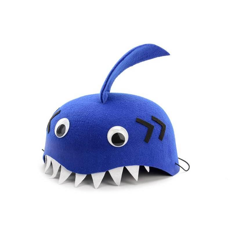 Casquette Shark, bleu