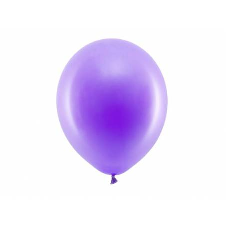 Ballons Rainbow 30cm violet pastel