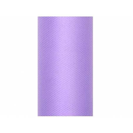Tulle uni, violet, 0,08 x 20m