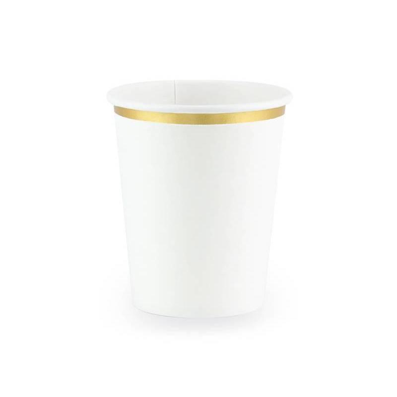 Gobelets blancs 260 ml