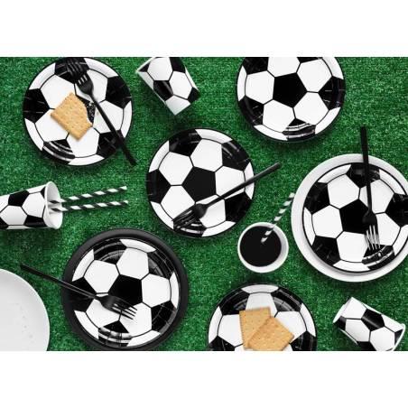 Gobelets en papier Football mix 220ml