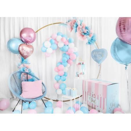 Ballon en feuille Mom to Be, 35cm, rose