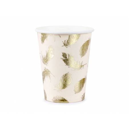 Gobelets en papier Lovely Swan 220ml